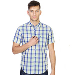 Eye-Catching Peter England Gents Checkered Shirt