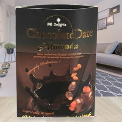 Sumptuous Magnum of Date-Almond-Chocolate Delicacy