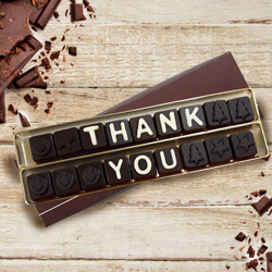 Thank You Messenger Homemade Chocolate