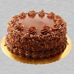 Mouth-watering Eggless Chocolate Cake to K. G. Road