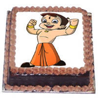 Cheerful Choice Chota Bheem Cake