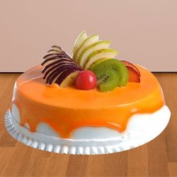 Soft-Textured 1/2 Kg Fresh Fruit Cake