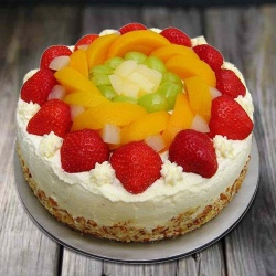 Gusto's Gladness 1 Kg Egg-less Fresh Fruit Cake