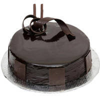 3/4 Star Bakery's Tendering Mutuality 1 Lb Birthday Dark Chocolate Cake