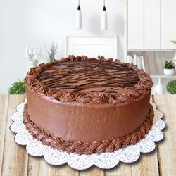 3/4 Star Bakery's Exotic Enjoyment 2.2 Lb Chocolate Cake