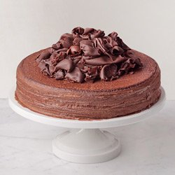 Awe-Inspiring 2.2 Lb Chocolate Truffle Cake from 3/4 Star Bakery