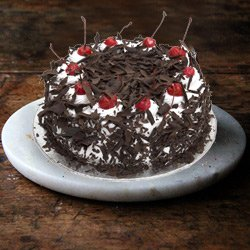 Moist 4.4 Lbs Black Forest Cake from 3/4 Star Bakery