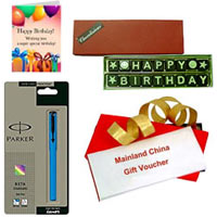 Lovely Gift of Gift Voucher from Mainland China worth Rs.1000