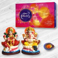 Ganesh Lakshmi with Cadbury's Celebration