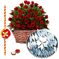 Holy Tie of Rakhi with Attractive Gifts