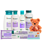 Comforting Baby Care Gift Pack from Himalaya with Cute Teddy