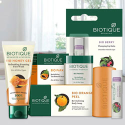 Brilliant Gift of Womens Special Biotique Personal Care Products