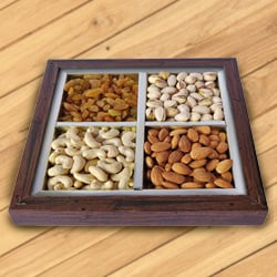Warming Spirits Dry Fruit Platter