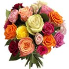 Charming 24 Mixed Roses with Style
