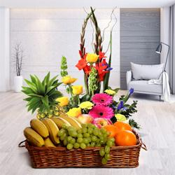 Captivating Flowers and Luscious Fresh Fruits with Bountiful Joys