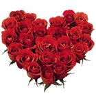 Sweet Perfection Heart Shaped 30 Red Roses Bouquet