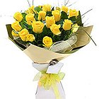 Regal Blessing Yellow Roses Assorted Bundle