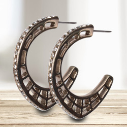 Scintillating and Rocking Earrings by Avon