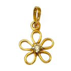 Festive Splendor (18K) Diamond Pendant from Anjali