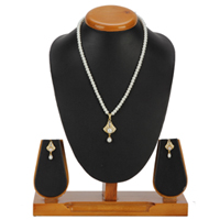 Bell Shaped Pendent Set