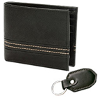 Sophisticated Pioneer Men's Wallet and Key Chain Designed by Avon