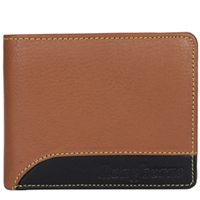 Impressive Longhorn Gents Leather Wallet in Brown Colour
