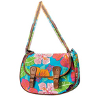 Classic Flower Power Messenger Bag Designed by Avon