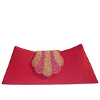 Spice Art's Shiny Pomp Ladies Clutch