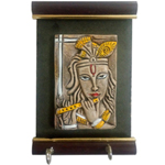 Elegant Lord Krishna Wall Key Holder