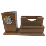 Extraordinary Wooden Duple Pen Holder
