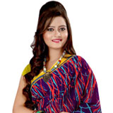 Attractive Multicoloured Georgette Printed Saree