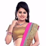 Popular Pink Coloured Georgette Printed Saree