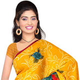 Attractive Suredeal Branded Georgette Printed Saree for Ladies