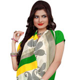 Fashionable Women's Collection Printed Saree from Rainbow