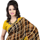 Comfy Faux Georgette Printed Saree