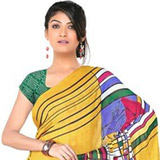 Thriving Attraction Chiffon Saree