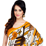 Dapper Dani Georgette Saree