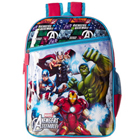 Pretty Gift of Red and Blue Color Backpack in Avenger Design