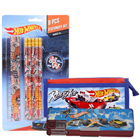 Sporty Step Out in Style Hot Wheels Stationery Set
