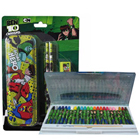Outstanding Ben 10 Pattern Stationary Set for Lovely Kids