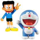 Trendy Arrangement of Doremon N Suneo Action Figure for Children