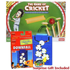 Absorbing Funskool Cricket and Downfall Games