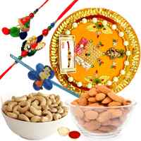 Completely Pious Rakhi Thali Assemblage