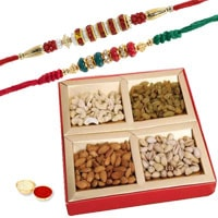 Ardent Double Rakhi Celebration Combo