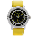 Maintaining Time with Timex Helix Drifter Watch in Black and Yellow to South Public Square