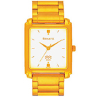 Eye-Catching Golden Coloured Gents Watch from Sonata