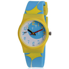 Fashionable Titan Zoop Blue and Yellow Wrist Watch for Kids