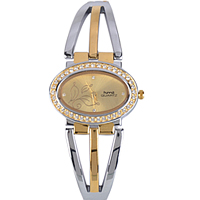 Mesmerizing Golden Dial Stylish Wrist Watch for Women