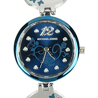 Lovable Display of Blue Color Wrist Watch for Women