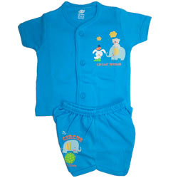 Cotton Baby wear for Boy (0 month - 6 months)